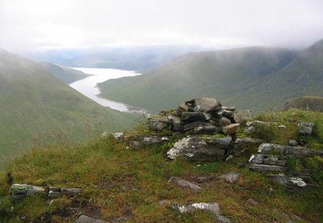 Summit , Beinn Tharsuinn.