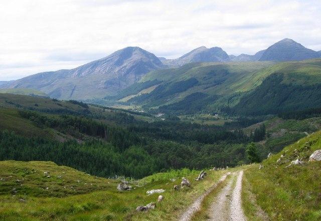 View to Strathcarron