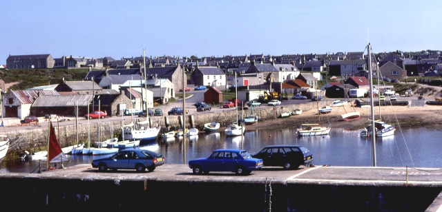 Hopeman Harbour