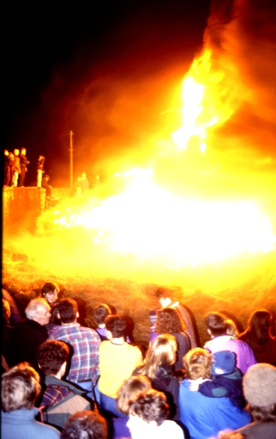 Burning of the Clavie (4) - Doorie Hill