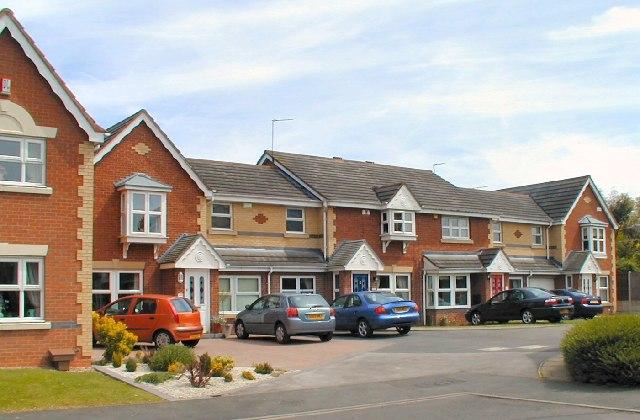 Houses on Sladelands Drive