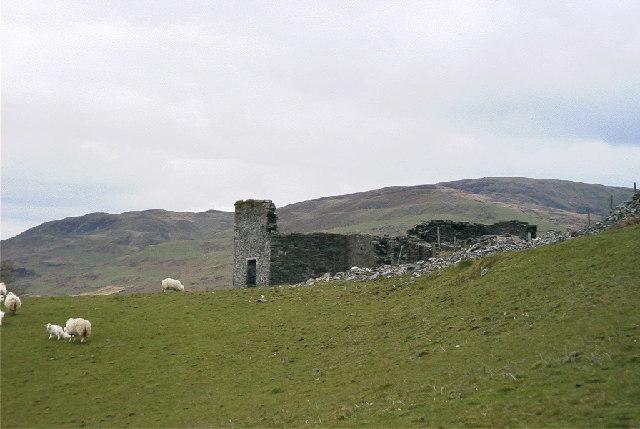 Wheelhouse, Bryn-yr-Arian Mine