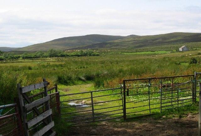 Farm gate, Achnaluachrach