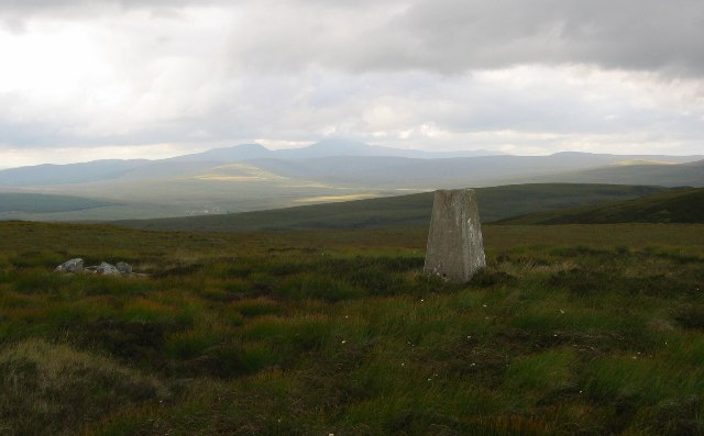 Trig on Meall a'Chaise