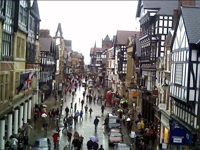 Looking Up Eastgate Street