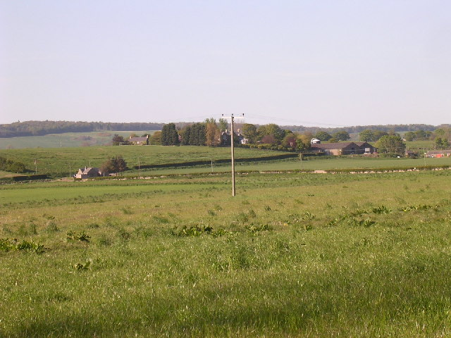 Angus farmland east of Monifieth