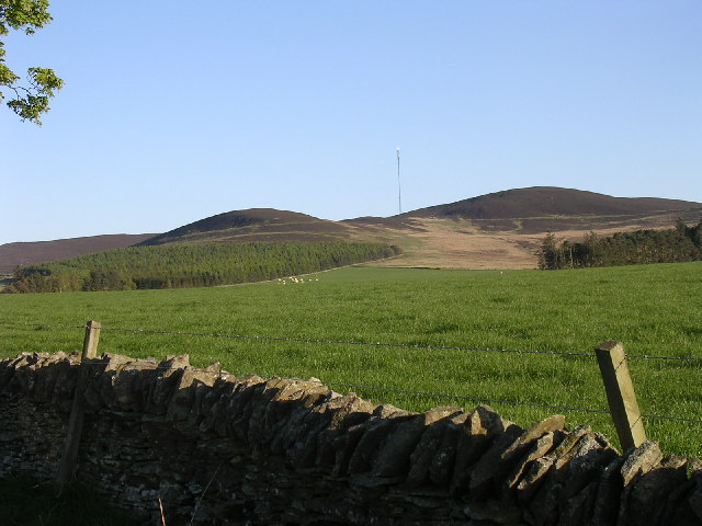 Gallow Hill from Milton of Ogilvie