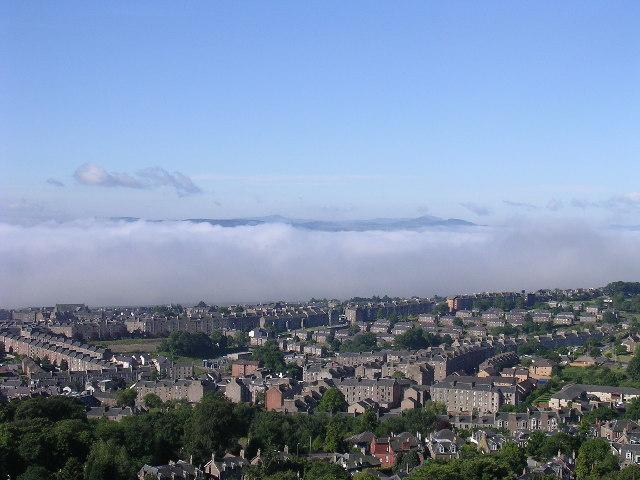 Fog in the Tay estuary