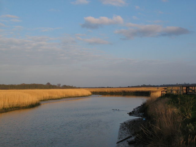 River Alde at Snape Maltings
