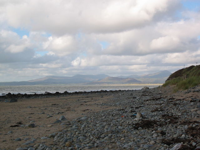 Beach near Llandanwg