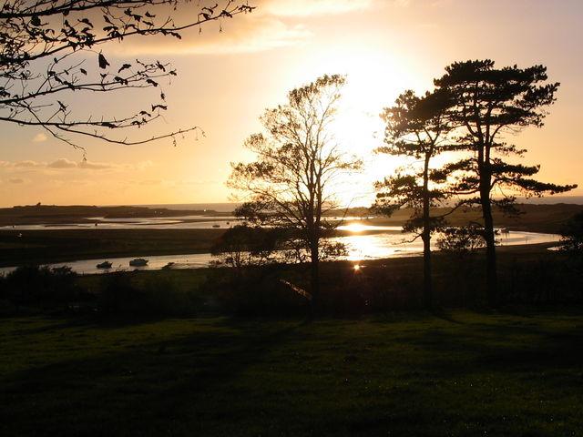 Sunset from Pen-sarn