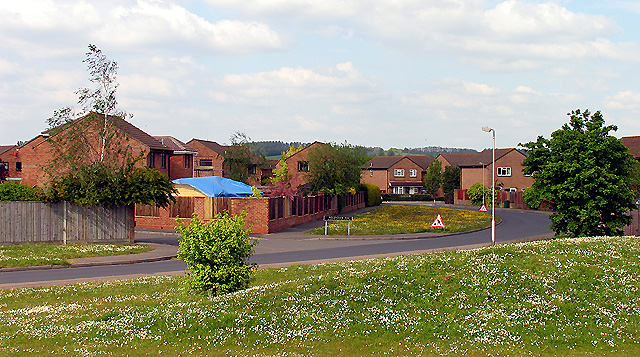 Thatcham Housing Estate