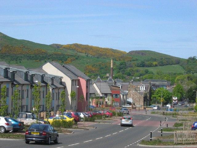New houses, Craigmillar