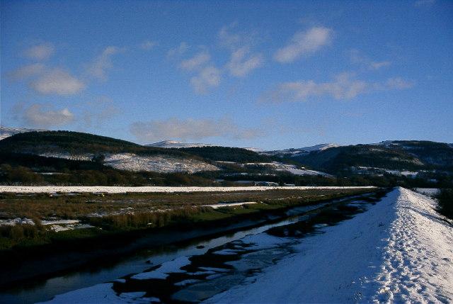 Clettwr in winter