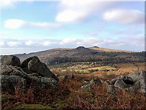 SX5769 : View from Down Tor towards Sharpitor by Richard Johns