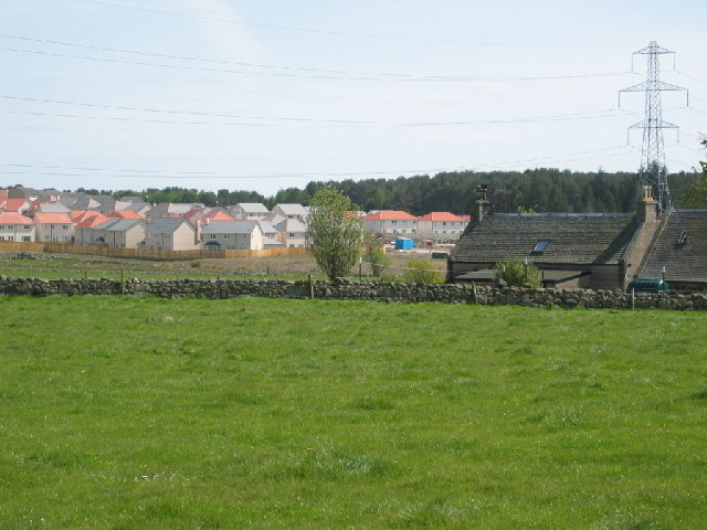 New housing estate at Elrick