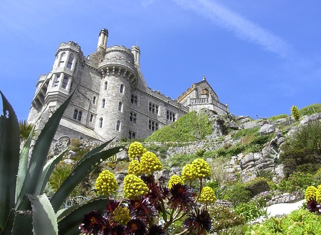 View of Castle on St Michael's Mount