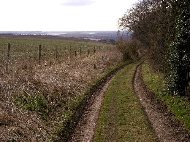 The summit of the bridleway to the south east of Austin's Dale