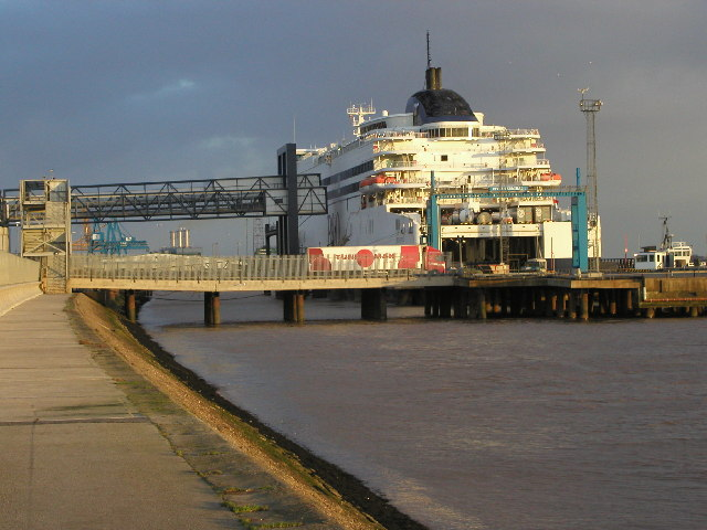 The North Sea Ferries Terminal