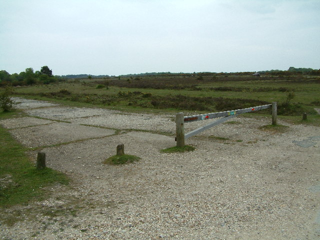 View towards Stoney Cross Plain, New Forest