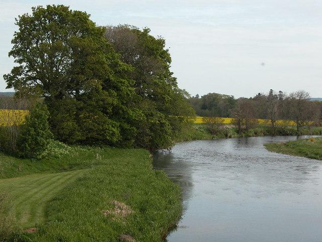 The River Don looking towards Jock's Pot