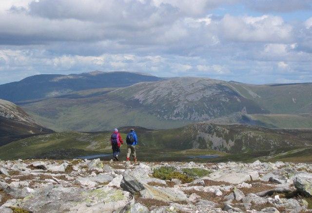 Lochnagar from Carn a'Gheoidh