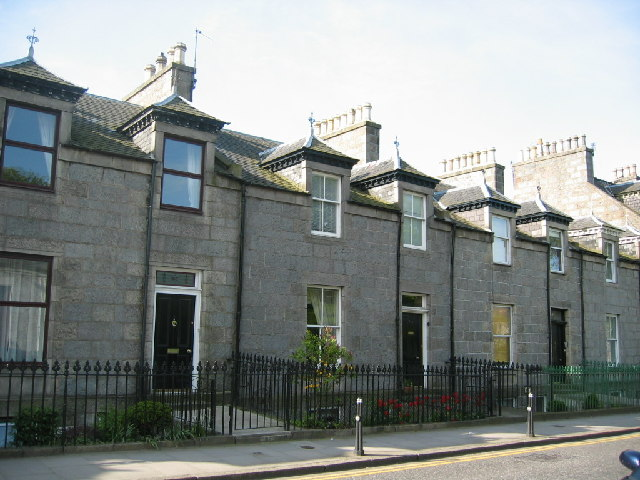 Granite houses in Ferryhill