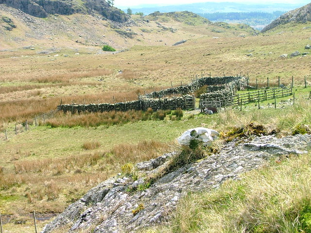 Sheepfold, Yewdale Beck