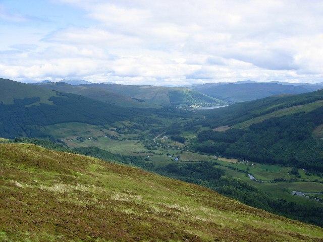Loch Earn from Beinn an t-Sidhein