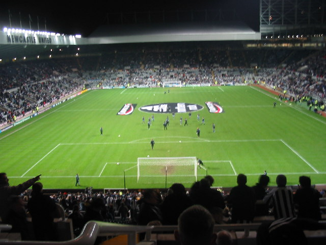St James Park, Newcastle