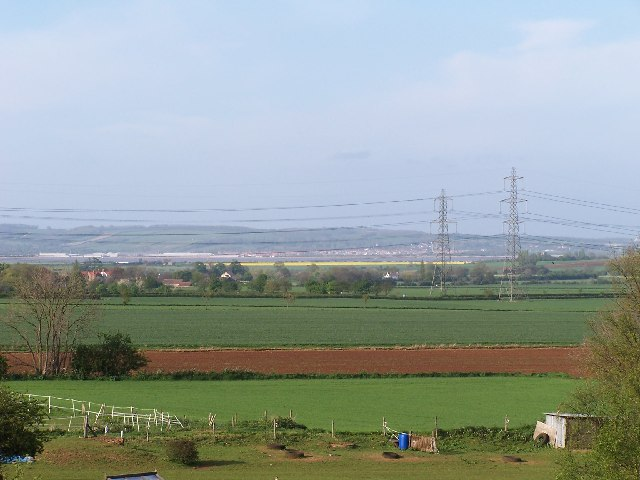 NE to the Humber from Coleby