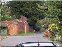 SE8919 : Coleby village street by Steve Parker