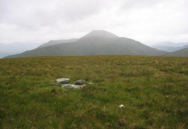 Summit of Beinn Uird.