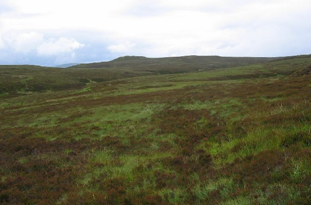 Lower slopes of Beinn Bhreac