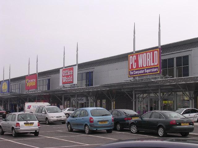 Kingsway West Retail Park