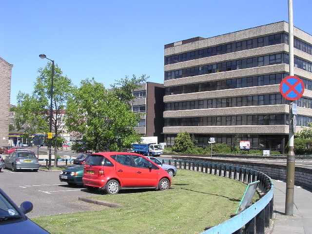 Dundee's Inner Ring Road at West Port