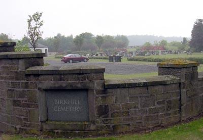 Birkhill Cemetery