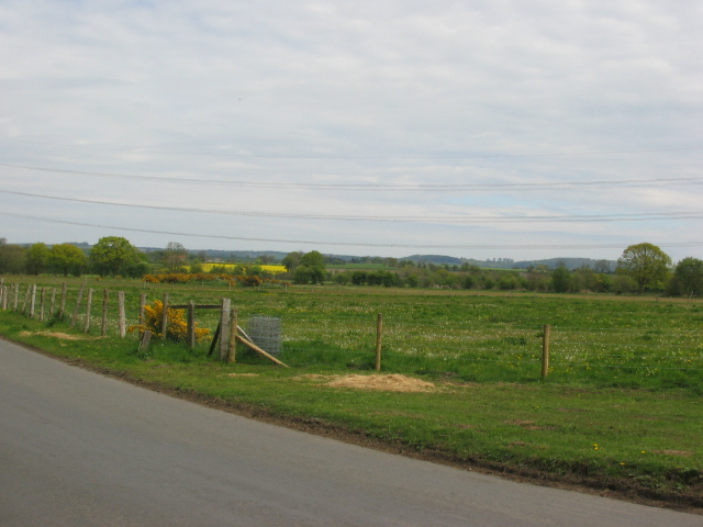 View towards the North East  and Stillington
