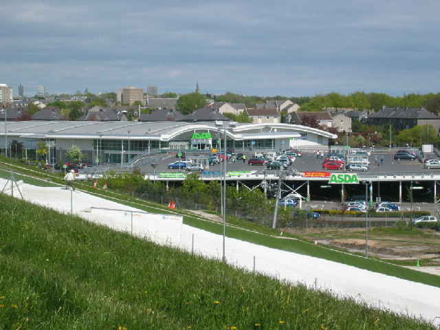 Retail park, Bridge of Dee