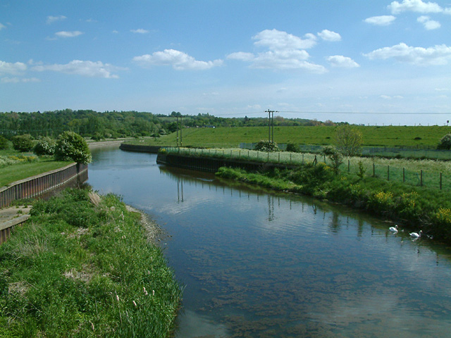 Flood relief channel