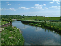 TQ3797 : Flood relief channel by Stephen Dawson