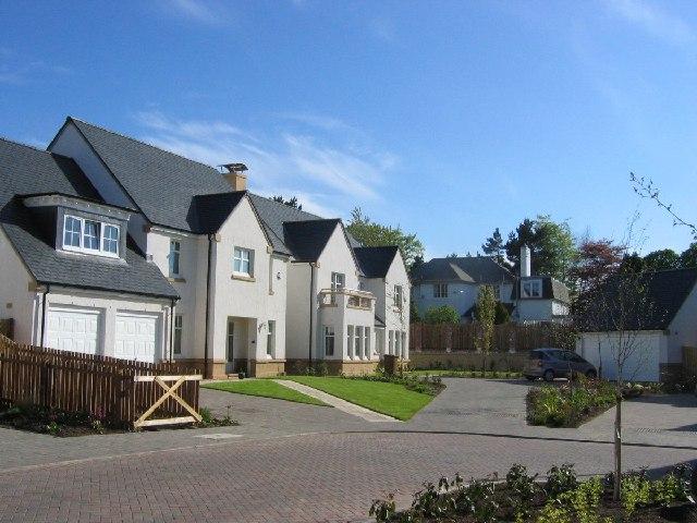 New estate, Dunfermline College