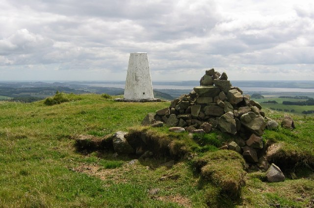 Summit, King's Seat.
