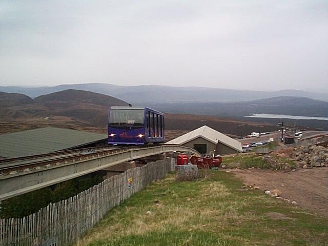 Funicular railway Cairngorm