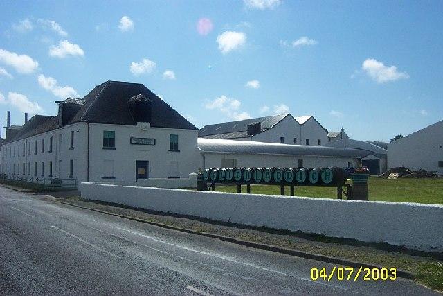 Bruichladdich  Distillery, Islay