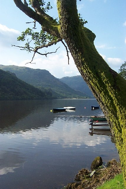 View from Coylet Inn Loch Eck Cowal
