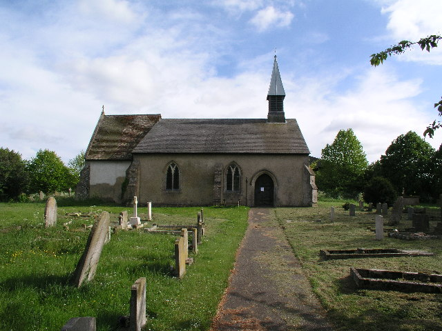 The TARDIS-like Church at Westley Waterless