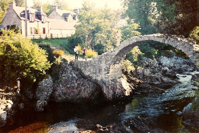 Old Packhorse Bridge at Carrbridge