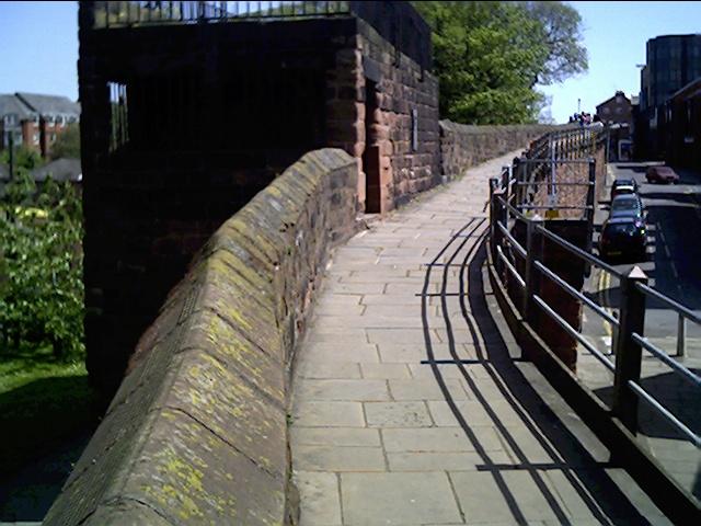 Morgan's Mount, City Walls, Chester