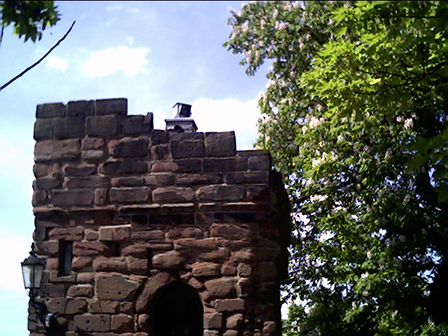 Camera obscura, Bonewaldesthorne's Tower, City Walls, Chester